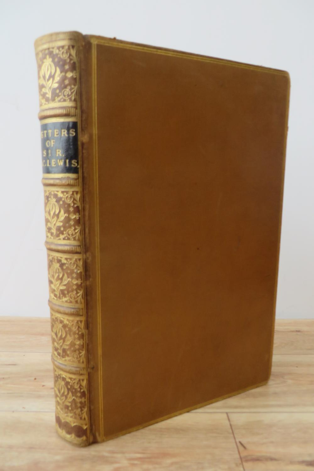 Letters of the Right Hon. Sir George Cornewall Lewis, Bart. To Various Friends
