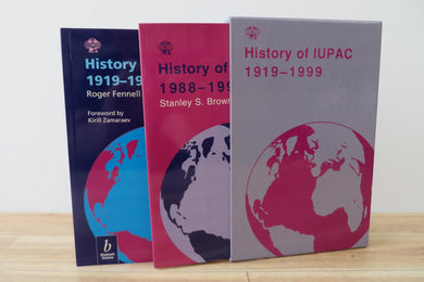 History of IUPAC, 1919-1987 (2 volumes)