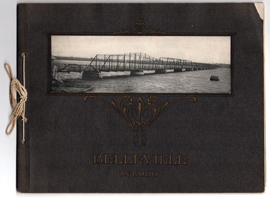 "A Souvenir of Belleville ""The Beautiful City of the Bay"""