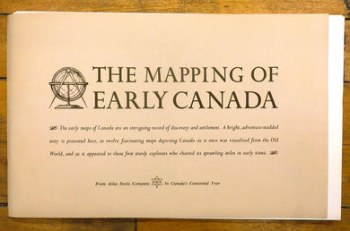 The Mapping of Early Canada