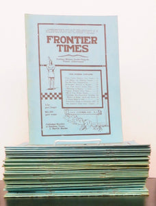 Frontier Times: Frontier History, Border Tragedy, Pioneer Achievement (35 issues - October 1925 - February 1929)