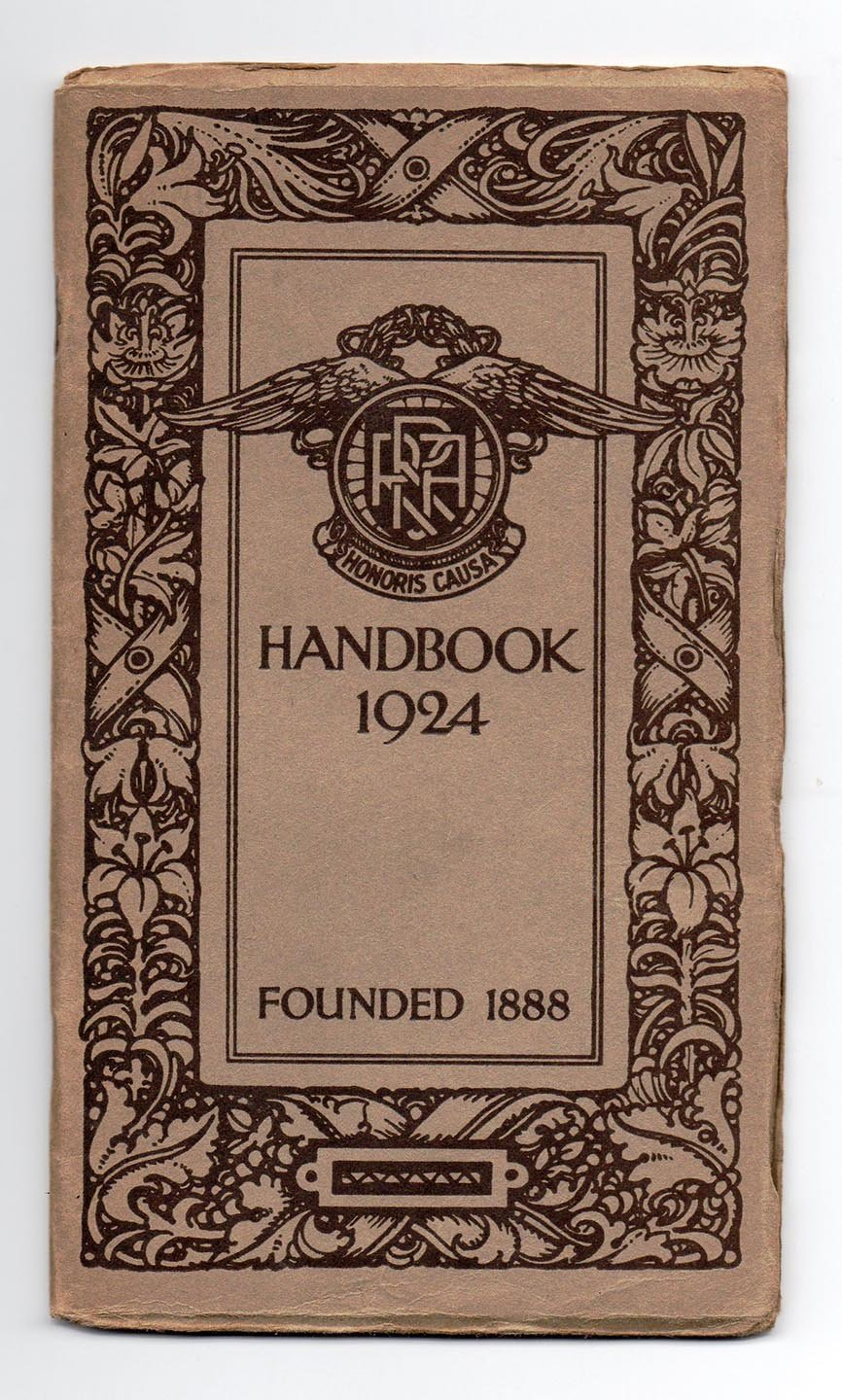 Road Records Association Handbook For 1924