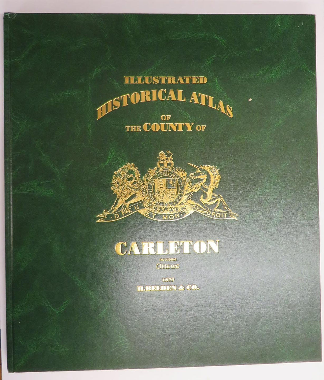 Illustrated Historical Atlas of County of Carleton including Ottawa