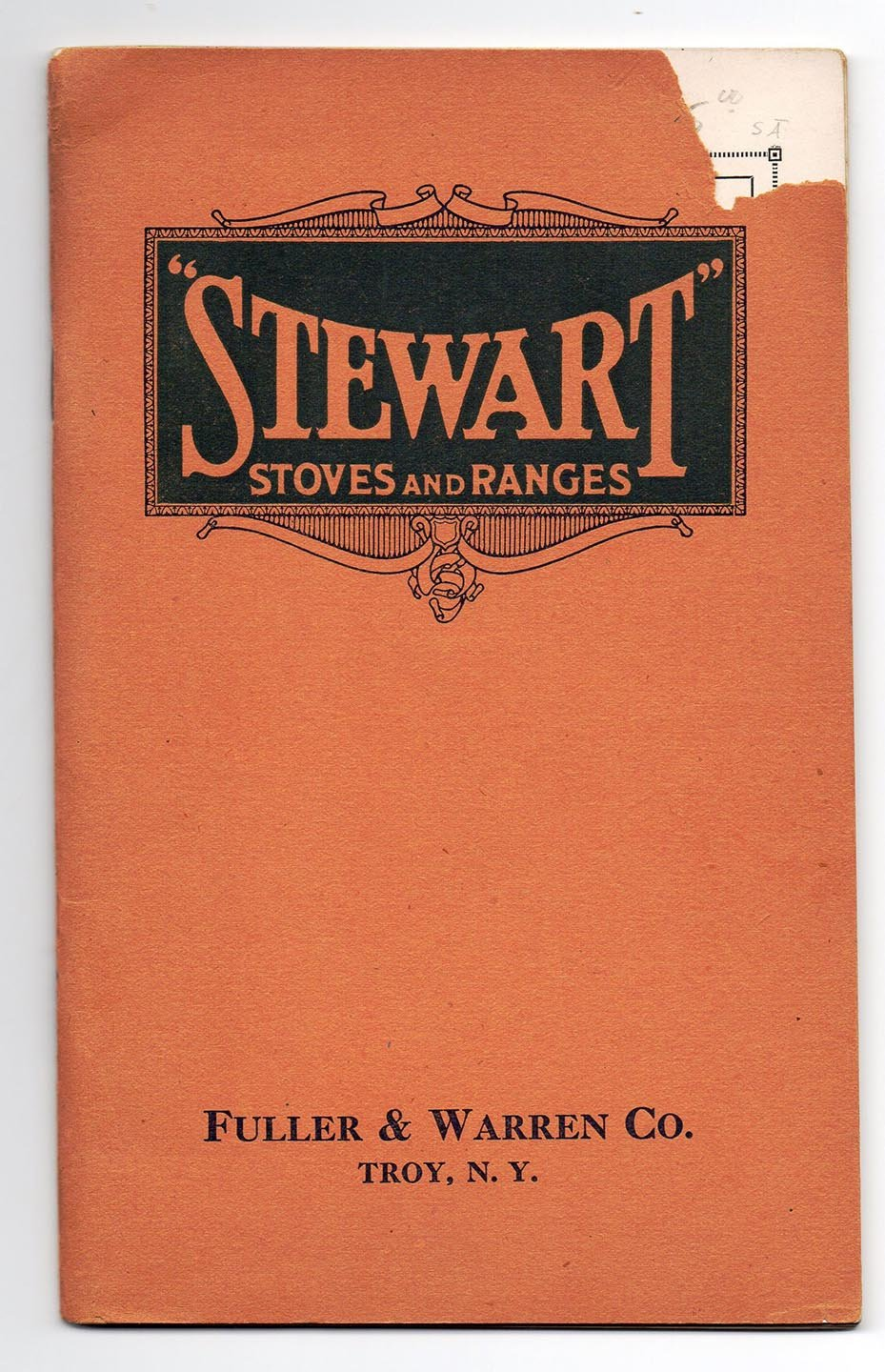 Stewart Stoves and Ranges catalogue, 1922