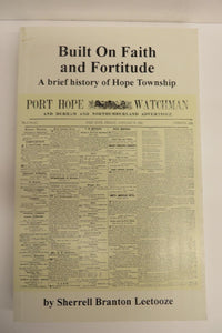 Built on Faith and Fortitude: A Brief History of Hope Township