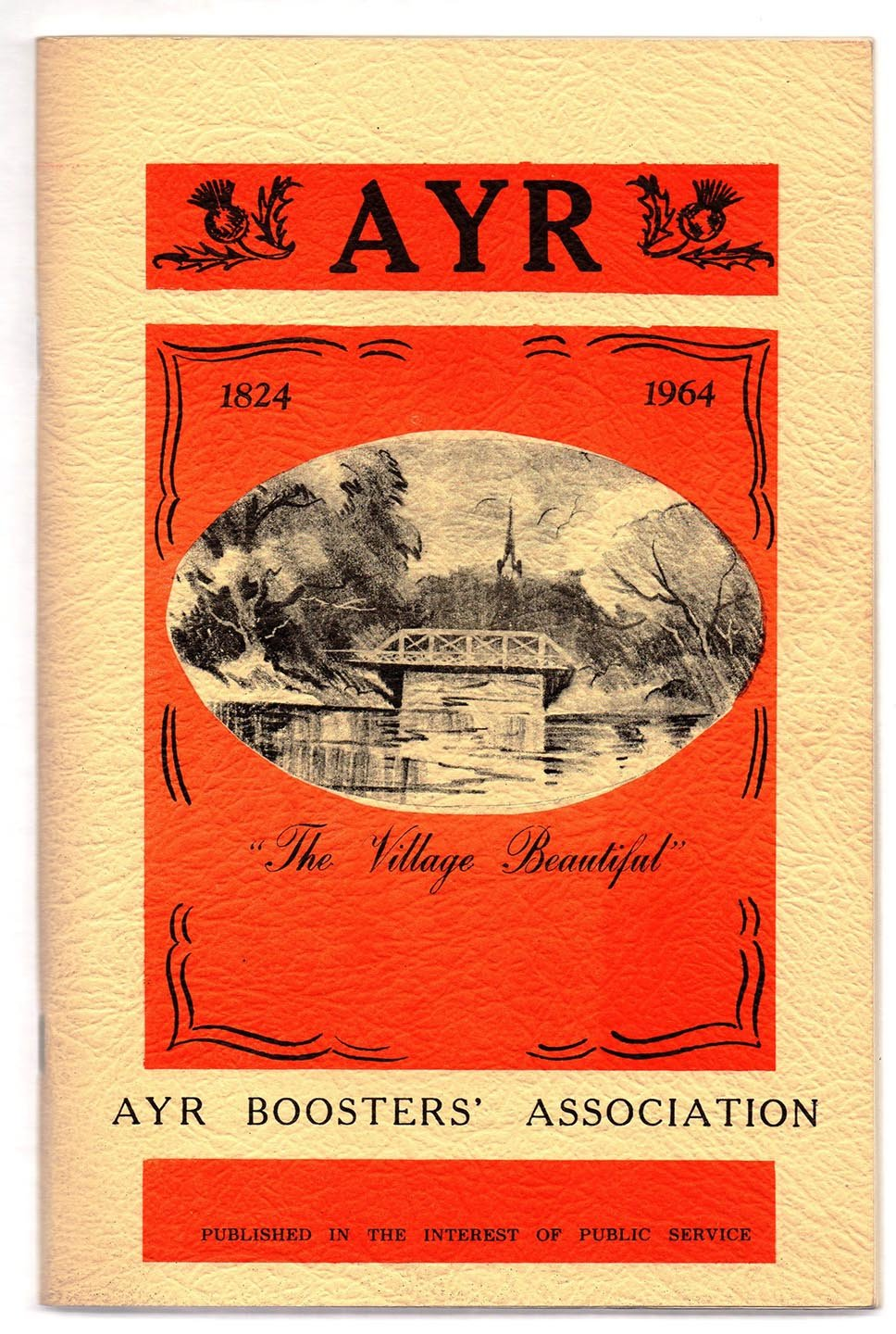 "Ayr 1824-1964 ""The Village Beautiful"""