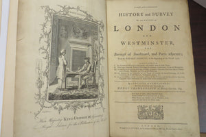 A New and Compleat History and Survey of the Cities of London and Westminster, the Borough of Southwark, and Parts adjacent
