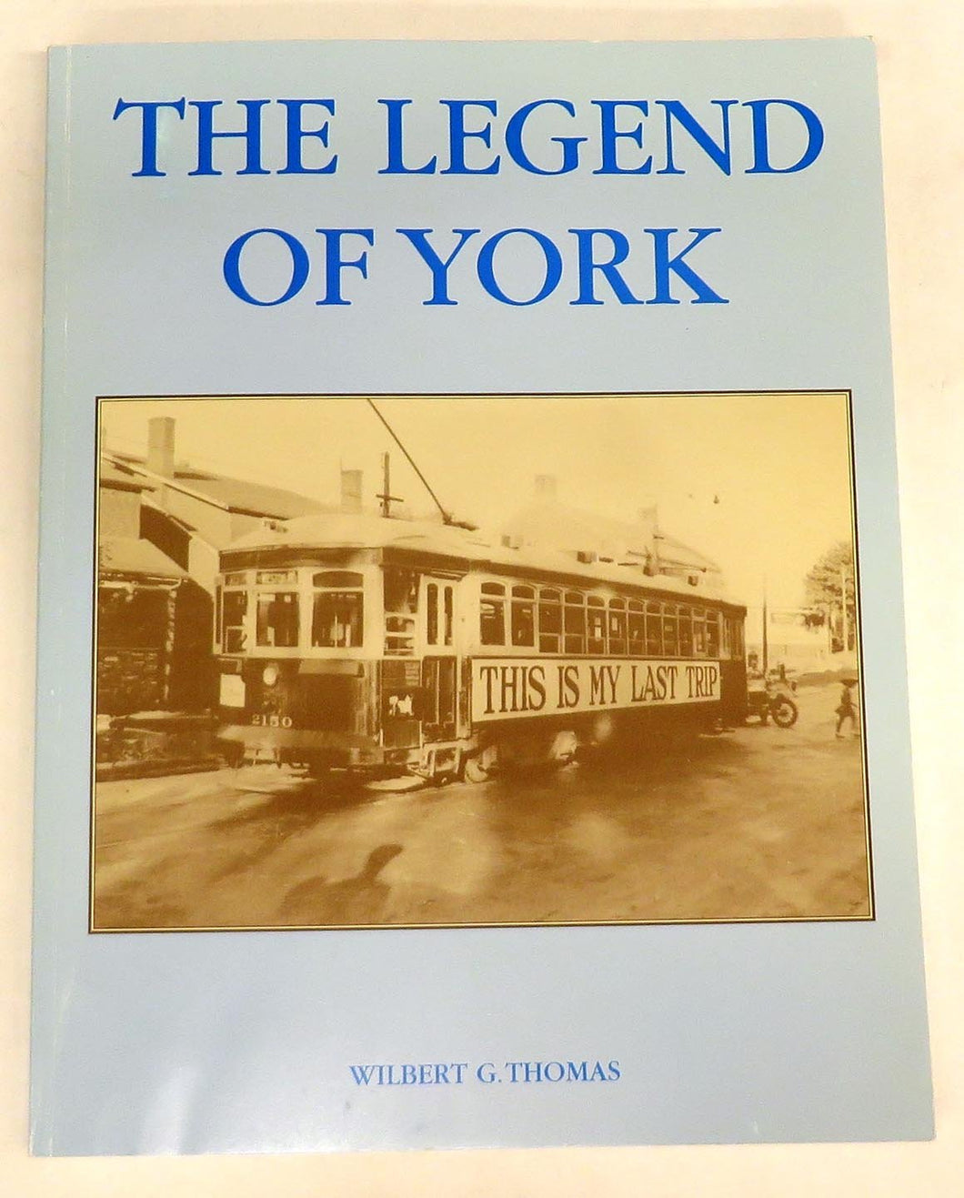 The Legend of York: A Survey of the Later Developments, (1920-1950), in York Township