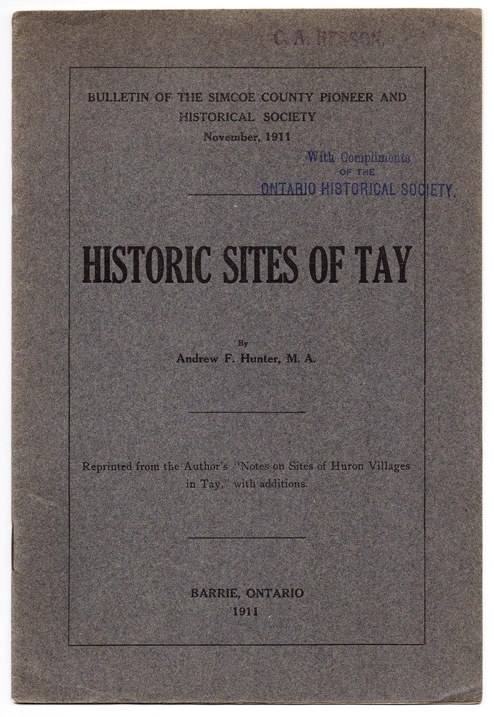 Historic Sites of Tay
