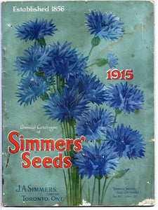 Annual Catalogue of Simmers' Seeds