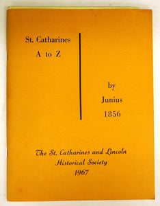 St. Catharines A to Z