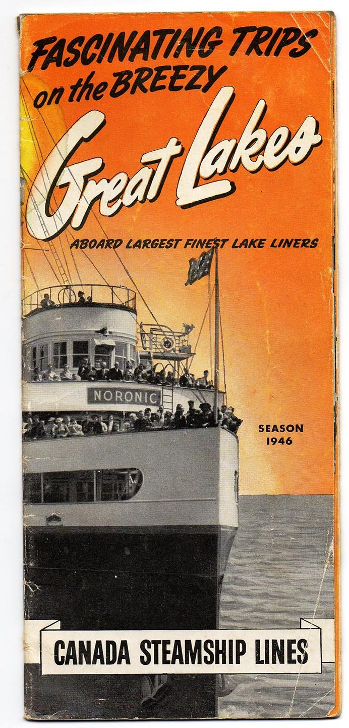 Canada Steamship Lines Great Lakes brochure Season 1946