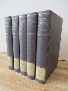 Collected Works of Oliver Goldsmith