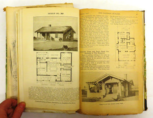Bound collection of house and barn plans ca. 1914-1916