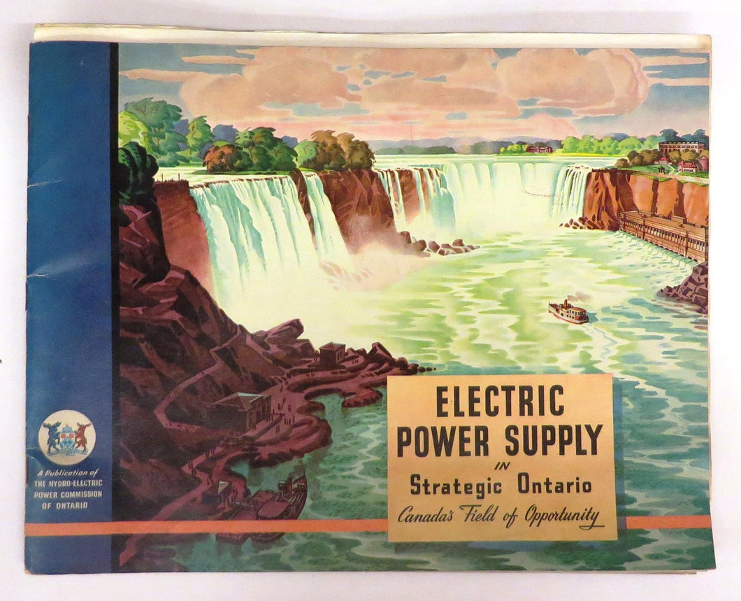 Electric Power Supply in Strategic Ontario, Canada's Field of Opportunity