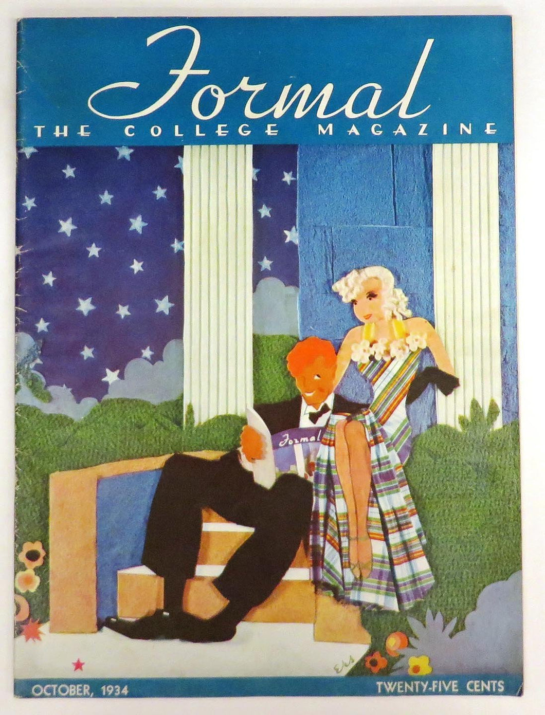 Journal: The College Magazine, October 1934