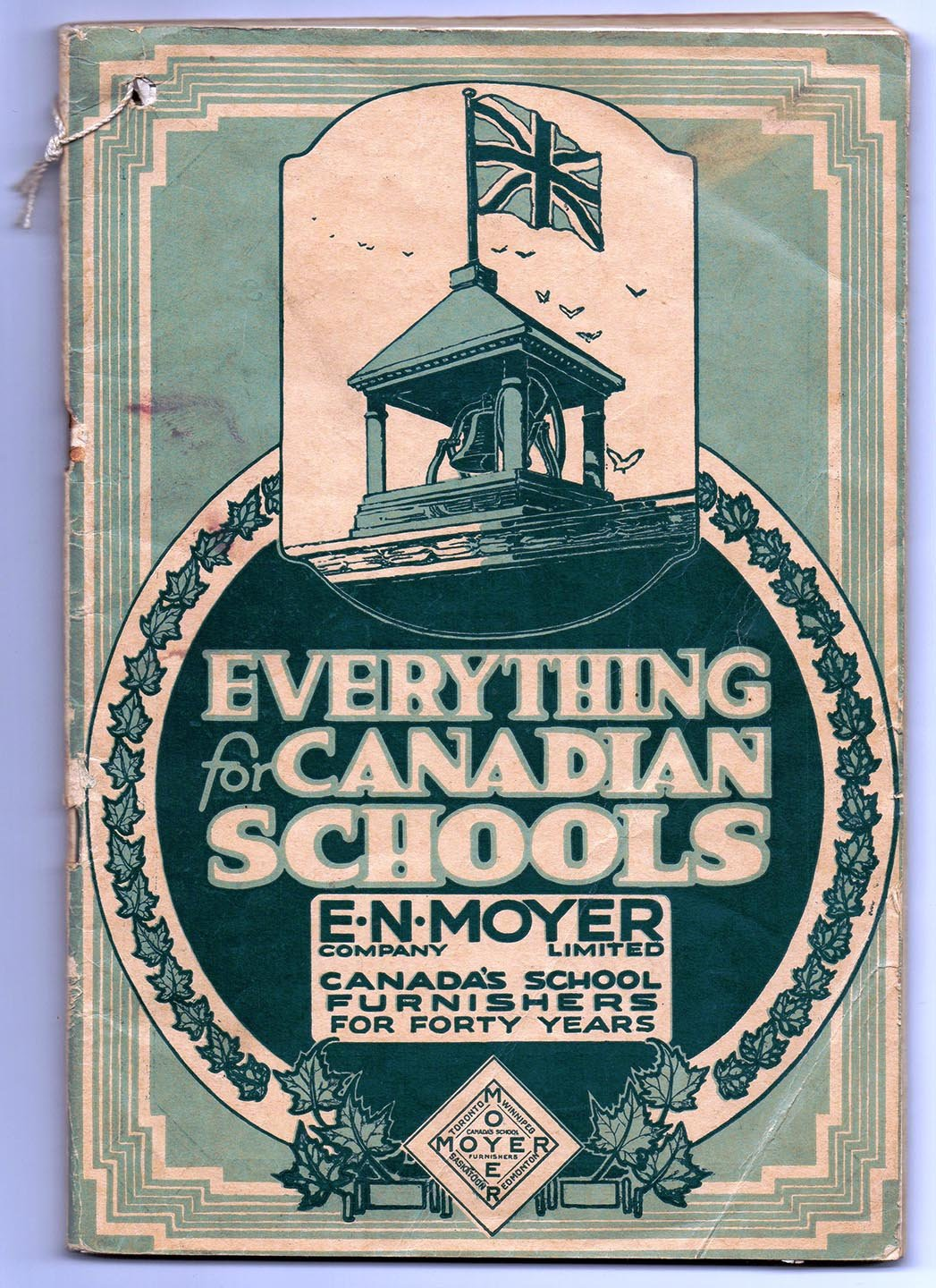 E. N. Moyer Company Catalog and Price List 1924-1925