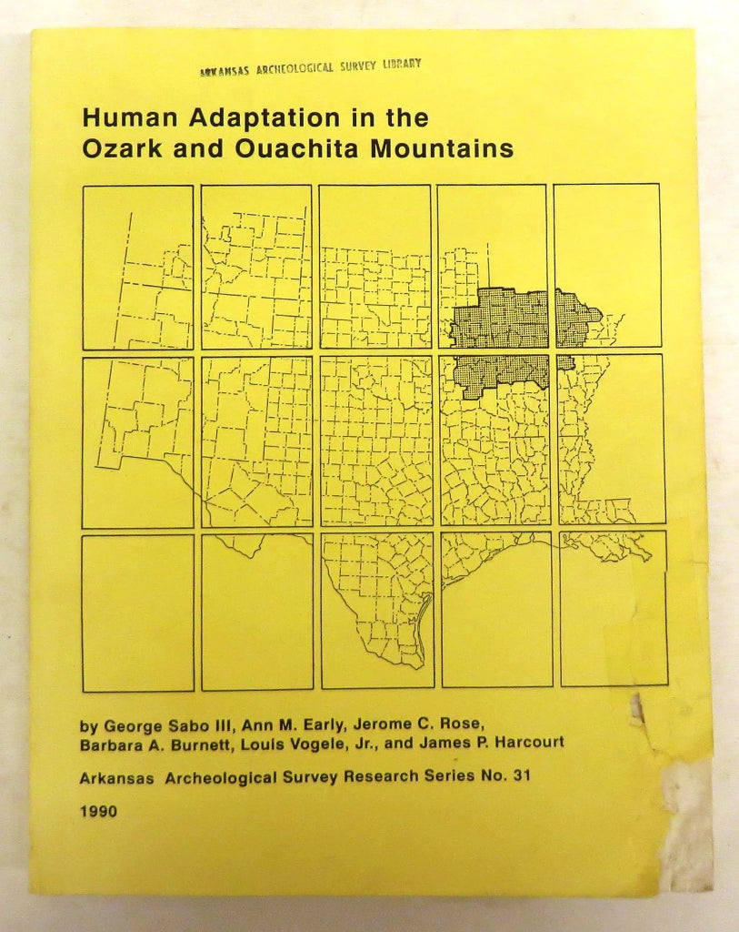 Human Adaptation in the Ozark and Ouachita Mountains