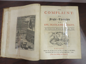 The Complaint: Or, Night=Thoughts on Life, Death, & Immortality