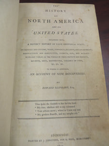 The History of North America and its United States