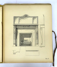 Sketch Book of Fireplace Designs
