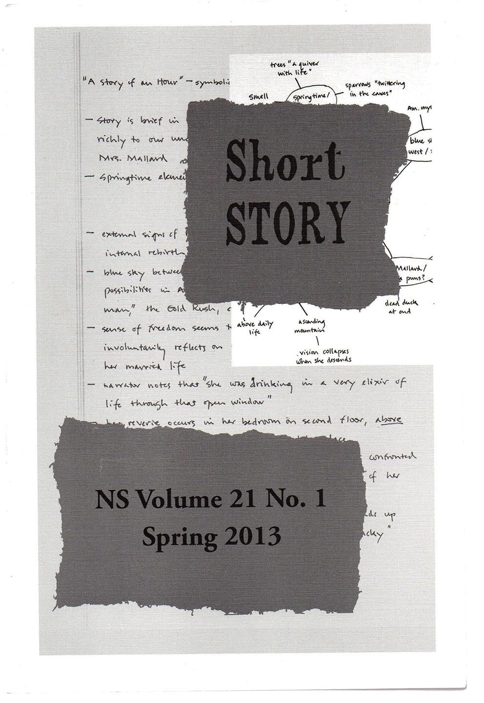 Short Story. Alice Munro and the Souwesto Story: A Special Issue of Short Story