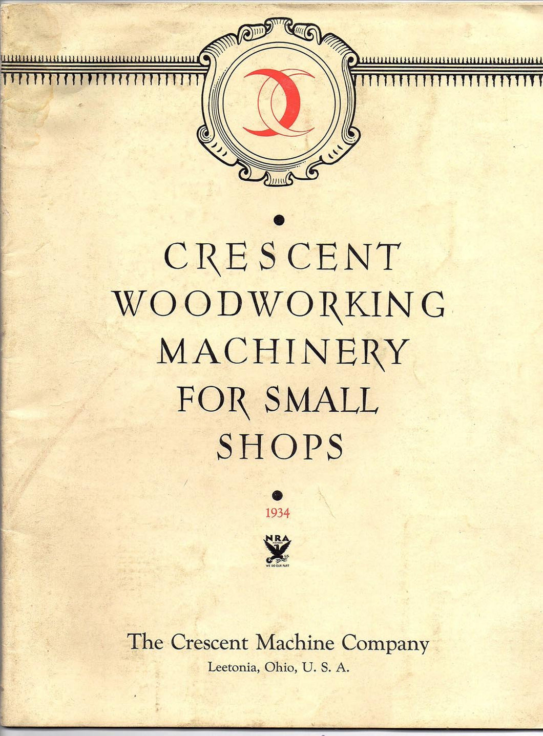 Crescent Woodworking Machinery For Small Shops