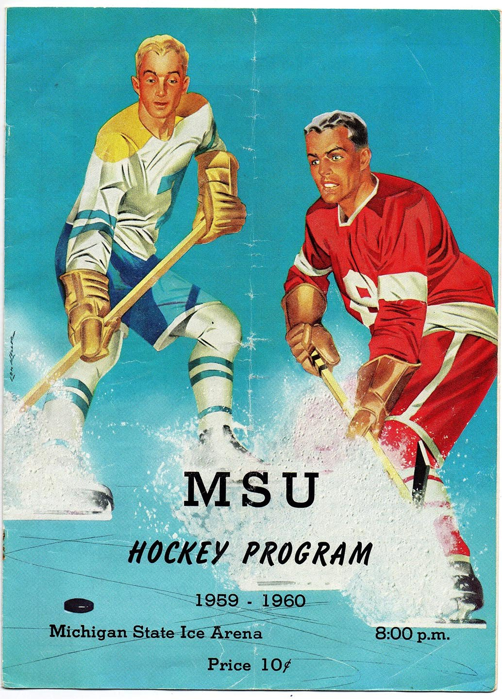 MSU Hockey Program 1959-1960