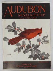 Bird-Lore; Audubon Magazine, Vols. 1 to 45, 1899-1943