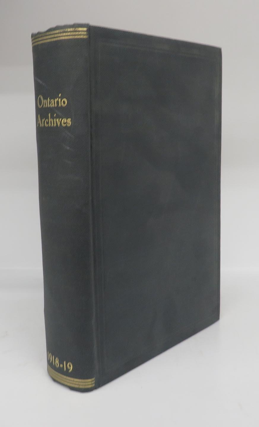Fifteenth Report of the Bureau of Archives for the Province of Ontario, 1918-19