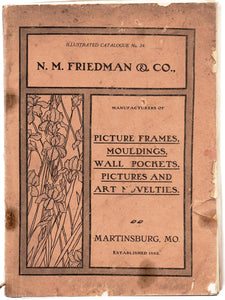 N. M. Friedman & Co. Catalogue, 1882