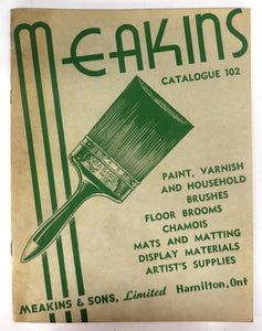 Meakins & Sons Catalogue 102