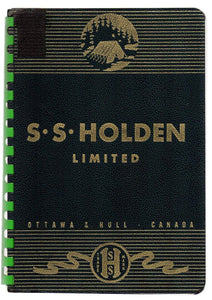 S. S. Holden Limited Catalogue No. 8