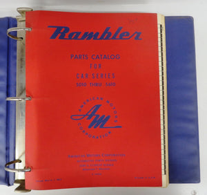 Rambler Parts Catalog for Car Series 5010 Thru 5610