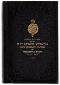Twenty-seventh Annual Report of the Fruit Growers' Association of the Province of Ontario, For the Year 1895;
