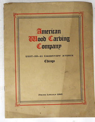 American Wood Carving Company catalog
