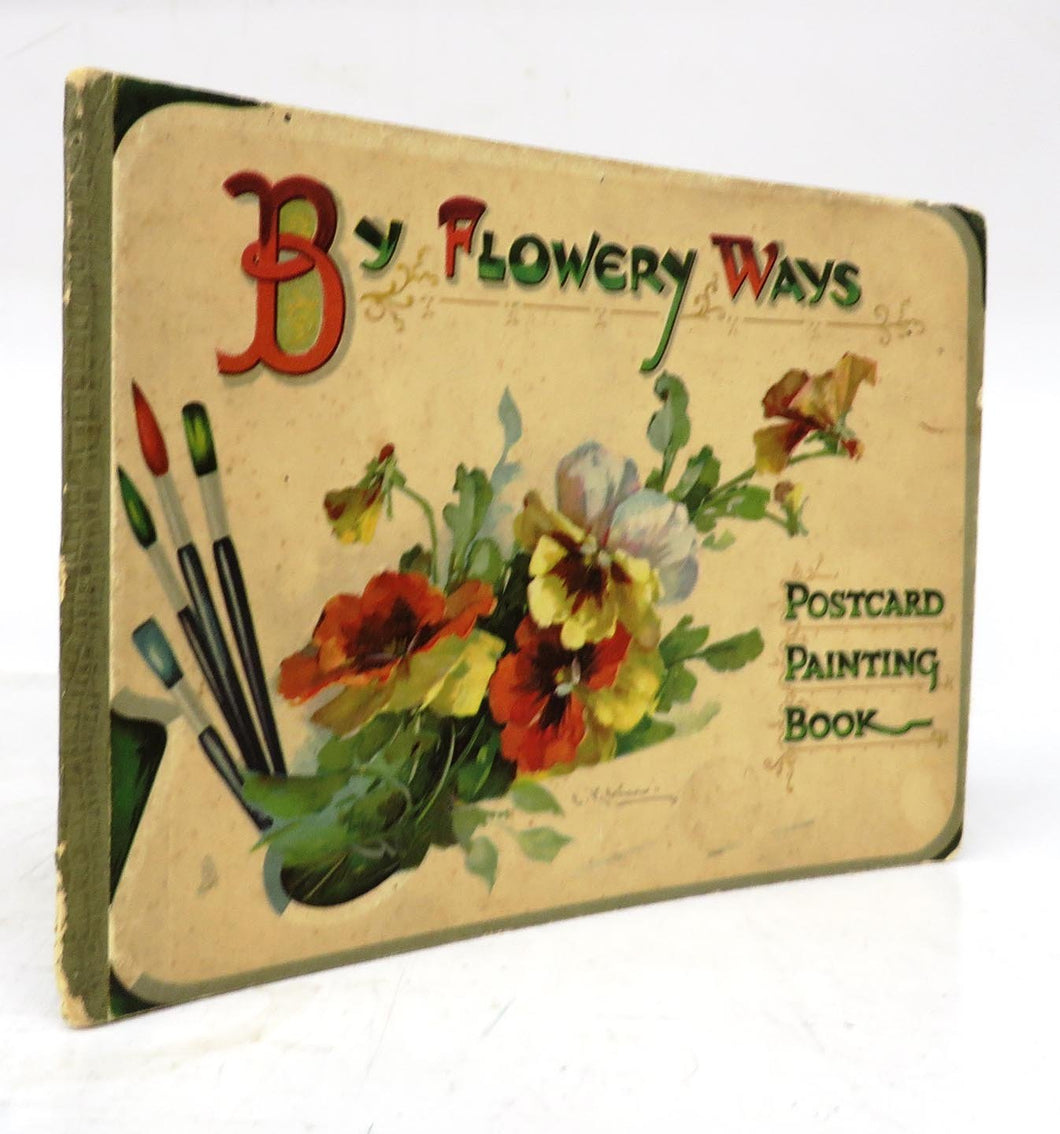 By Flowery Ways: Postcard Painting Book