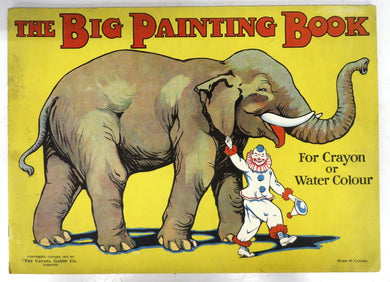 The Big Painting Book For Crayon or Water Colour