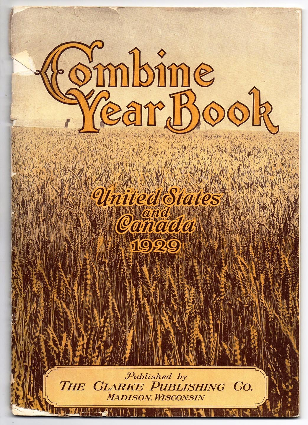 Combine Year Book, United States and Canada 1929