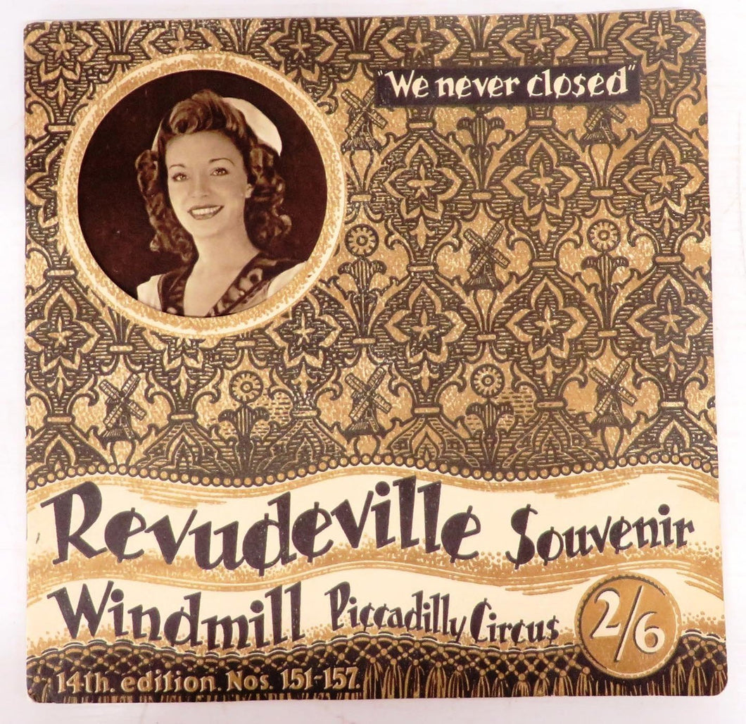 Revudeville Souvenir, Windmill, Picadilly Circus