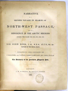 Narrative of a Second Voyage in Search of a North-west Passage