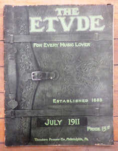 The Etude, July 1911