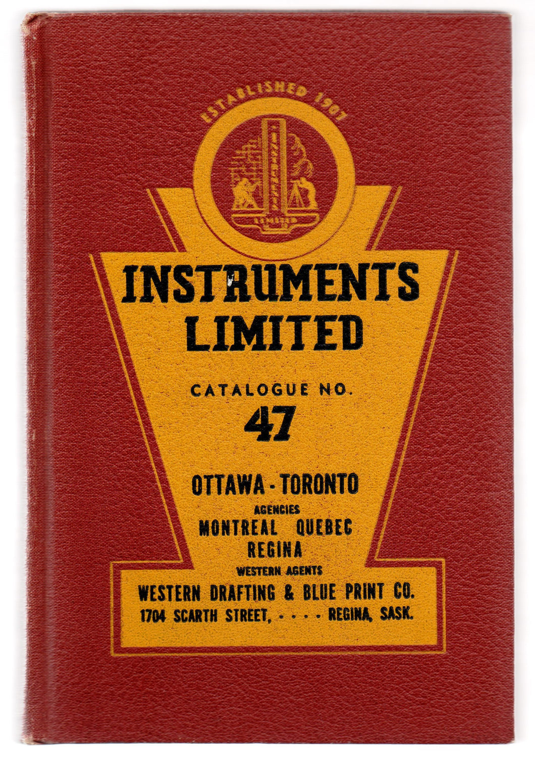 Instruments Limited Catalogue No. 47: Surveyors', Engineers', Architects' & Draughtsmens' Instruments & Supplies