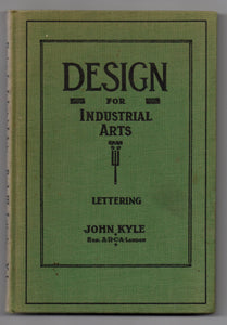 Design for Industrial Arts. Book III - Lettering