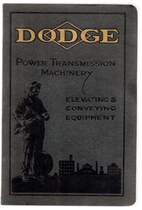 Dodge Power Transmission Machinery Elevating & Conveying Equipment catalogue