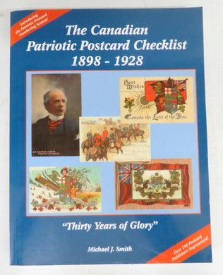 The Canadian Patriotic Postcard Checklist 1898-1928