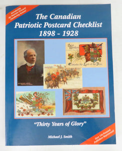 "The Canadian Patriotic Postcard Checklist 1898-1928 ""Thirty Years of Glory"""