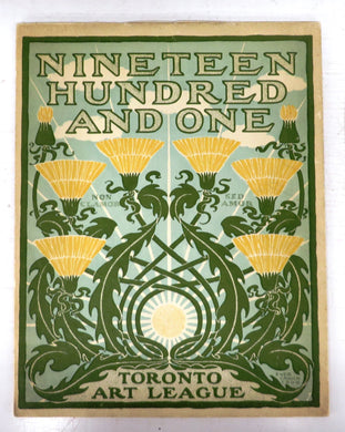 1901: The Toronto Art League Calendar with drawings illustrating some phases of Canadian Village Life