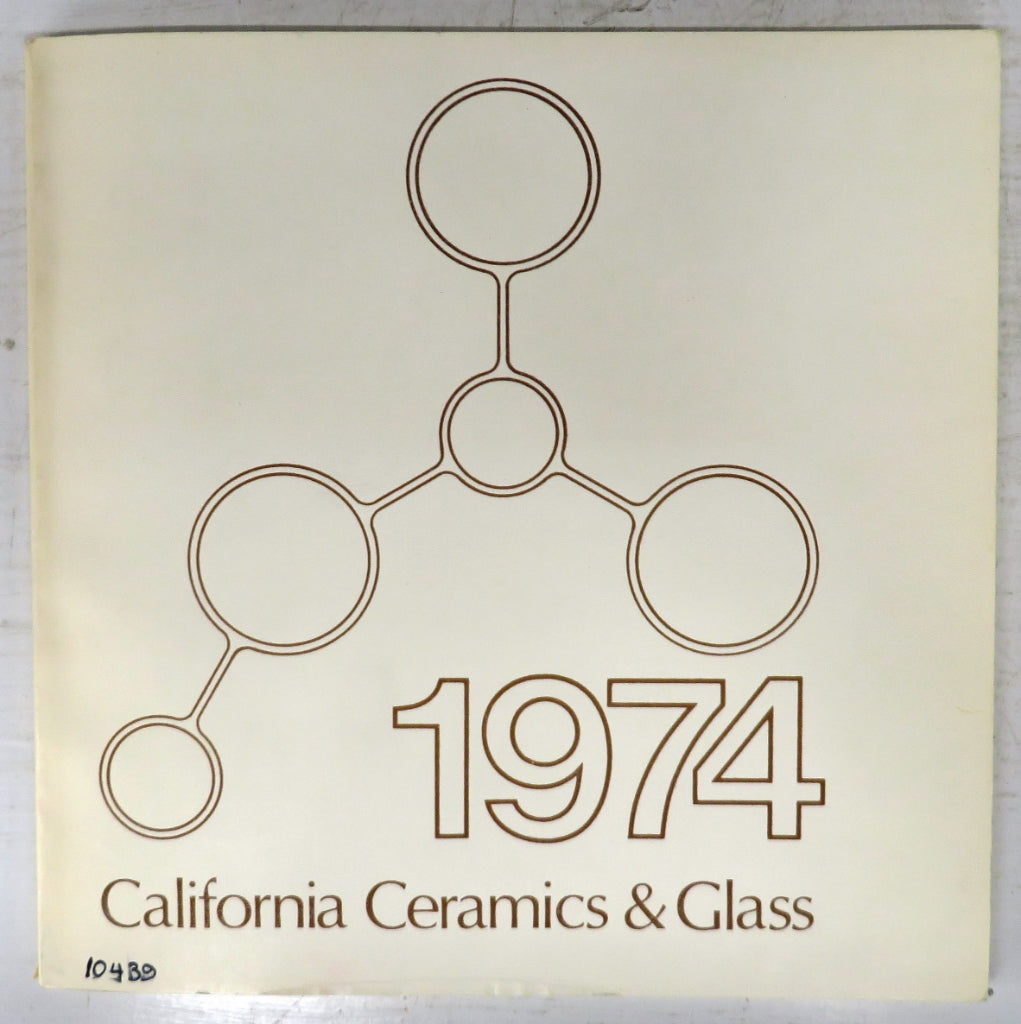 California Ceramics & Glass 1974