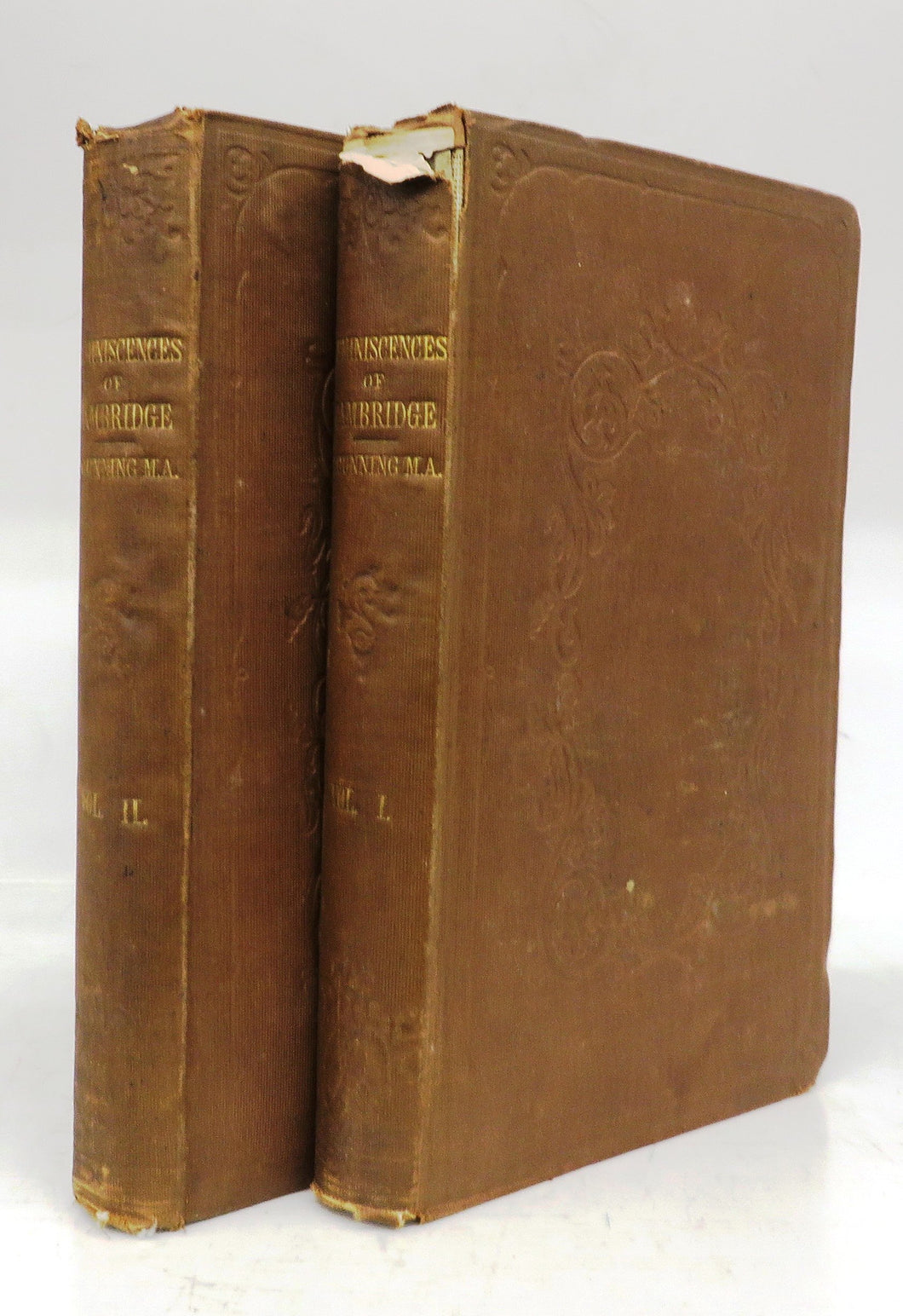Reminiscences of the  University, Town, and County of Cambridge, From the Year 1780. In Two Volumes